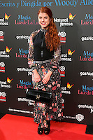 "Alba Messa attend the Premiere of the movie ""Magic in the Moonlight"" at callao Cinema in Madrid, Spain. December 2, 2014. (ALTERPHOTOS/Carlos Dafonte) /NortePhoto.com"