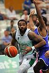 Basketball Champions League 2017/18 - Previus.<br /> Divina Seguros Joventut vs Dinamo Tbilisi: 86-66.<br /> Patrick Richard vs Boyd Lavell Lafrey.