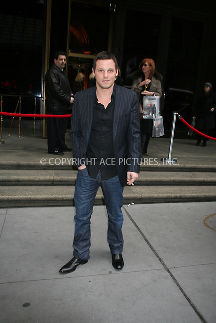 WWW.ACEPIXS.COM ** ** ** ....January 22nd, 2007, New York City. ....Justin Chambers arrives at Cipriani to attend Cosmopolitan Honors Nick Lachey as Fun Fearless Man of the Year. ....Please byline: Philip Vaughan -- ACEPIXS.COM.. *** ***  ..Ace Pictures, Inc:  ..Philip Vaughan (212) 243-8787 or (646) 769 0430..e-mail: info@acepixs.com..web: http://www.acepixs.com
