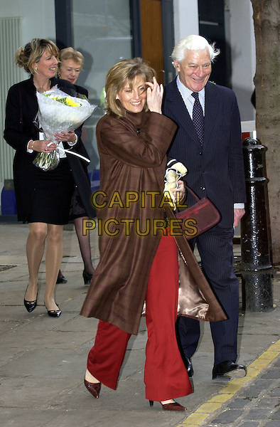 HRH SOPHIE COUNTESS OF WESSEX.in her role as Grand President of the  St. John's Ambulance Service, visited the headquarters in London, EC1, .January 18th 2005..full length royal .Ref: DH.www.capitalpictures.com.sales@capitalpictures.com.©David Hitchens/Capital Pictures .