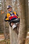 Portraits of Junior world champion freestyle kayaker Jason Craig of Reno at 16.