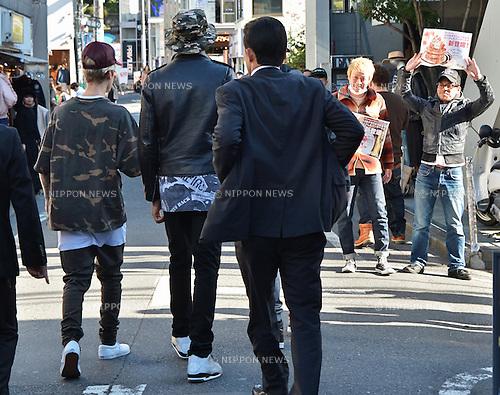 Justin Bieber, December 4, 2015, Tokyo, Japan : Singer Justin Bieber is seen upon visits at Harajuku in Tokyo, Japan, on December 4, 2015.