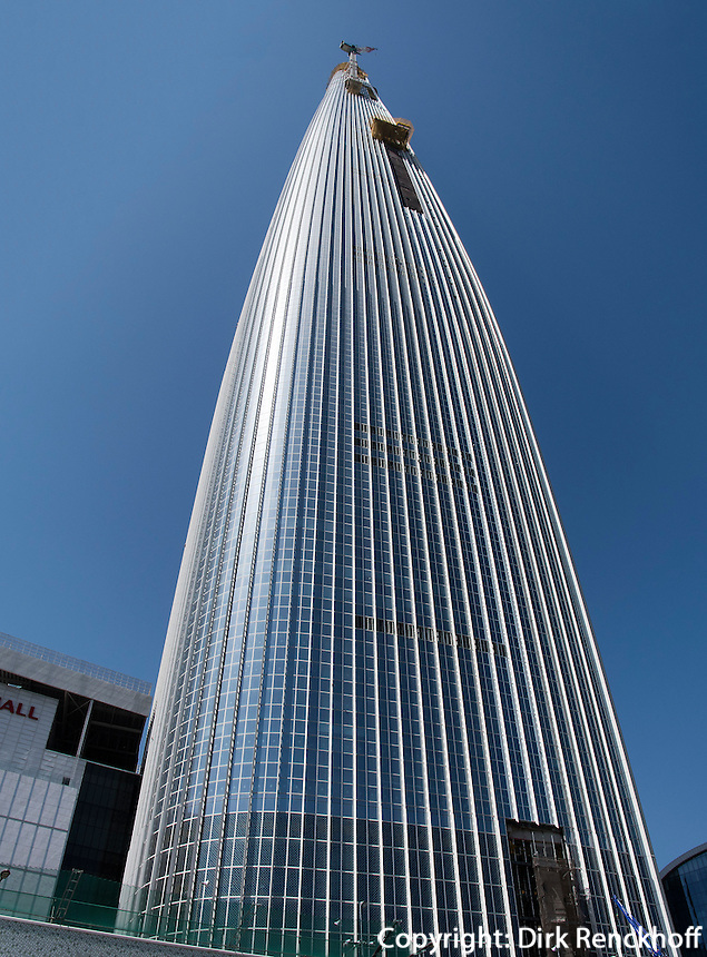 Lotte World Tower in Seoul, S&uuml;dkorea, Asien<br /> Lotte World Tower in Seoul, South Korea, Asia