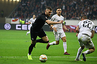 Ante Rebic (Eintracht Frankfurt) setzt sich durch - 25.10.2018: Eintracht Frankfurt vs. Apollon Limassol FC, Commerzbank Arena, Europa League 3. Spieltag, DISCLAIMER: DFL regulations prohibit any use of photographs as image sequences and/or quasi-video.