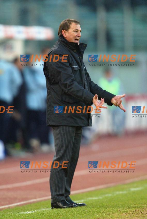 Roma 11/1/2004 <br /> Lazio Brescia 0-1 <br /> Giovanni De Biasi Brescia trainer<br /> Photo Andrea Staccioli Insidefoto