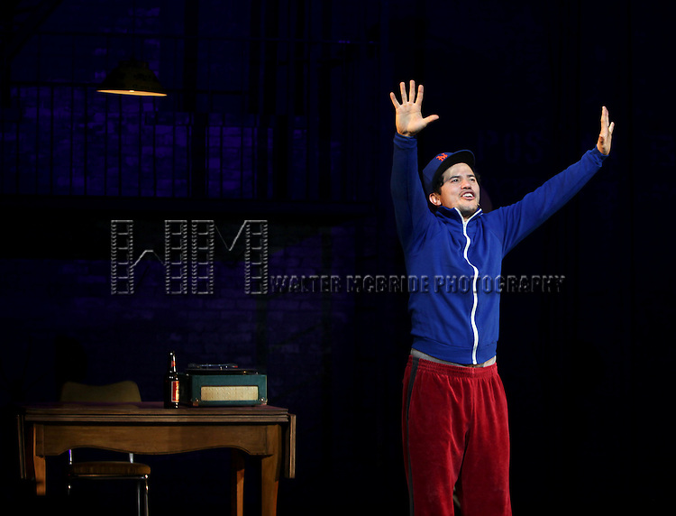 John Leguizamo.during the Broadway Opening Night Performance Curtain Call for  'Ghetto Klown'  at the Lyceum Theatre in New York City.