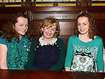 Emily, Margeurite and Mairead Lynch pictured at the Mattock Rangers awards night in Watters of Collon. Photo: Colin Bell/pressphotos.ie