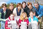 Recieving their certificates for their Irish course at the Listowel Community College on Wednesday were Front l-r Amanda Ni Lochlainn, Donna Ni Dhoda and Elaine Ni Shuibhne. Back l-r Yvonne De Staic, Roisin Ni Bheaglai (Gaelscoil Lios Tuathail), Brid Ni Dhullaig, Marion Ni Chathain, Maria Ni Tobin and Sean Mac Craith (tutor)..   Copyright Kerry's Eye 2008
