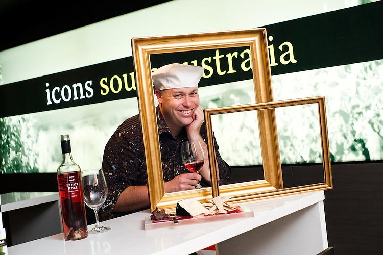 Brad blaze at Icons South Australia