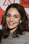 Annie Parisse attends the Off-Broadway Opening Night performance of 'Man From Nebraska' at the Second StageTheatre on February 15, 2017 in New York City.