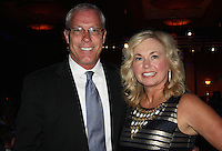 NWA Democrat-Gazette/CARIN SCHOPPMEYER Jill and Mike Sewell, Will Golf 4 Children co-chairman, enjoy the Color of Hope Gala.