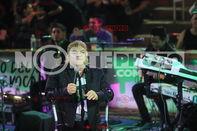 Los Yonics during her concert at the Palenque of ExpoGan.<br /> 03 May 2017.