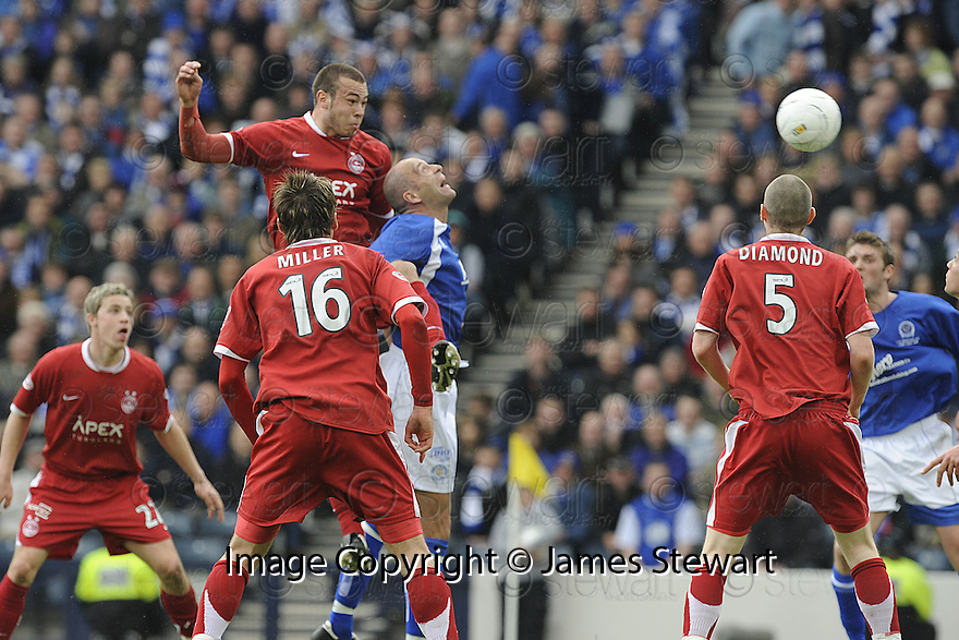 12/04/2008    Copyright Pic: James Stewart.File Name : sct_jspa02_qots_v_aberdeen.ANDREW CONSIDINE SCORES ABERDEEN'S FIRST.James Stewart Photo Agency 19 Carronlea Drive, Falkirk. FK2 8DN      Vat Reg No. 607 6932 25.Studio      : +44 (0)1324 611191 .Mobile      : +44 (0)7721 416997.E-mail  :  jim@jspa.co.uk.If you require further information then contact Jim Stewart on any of the numbers above........