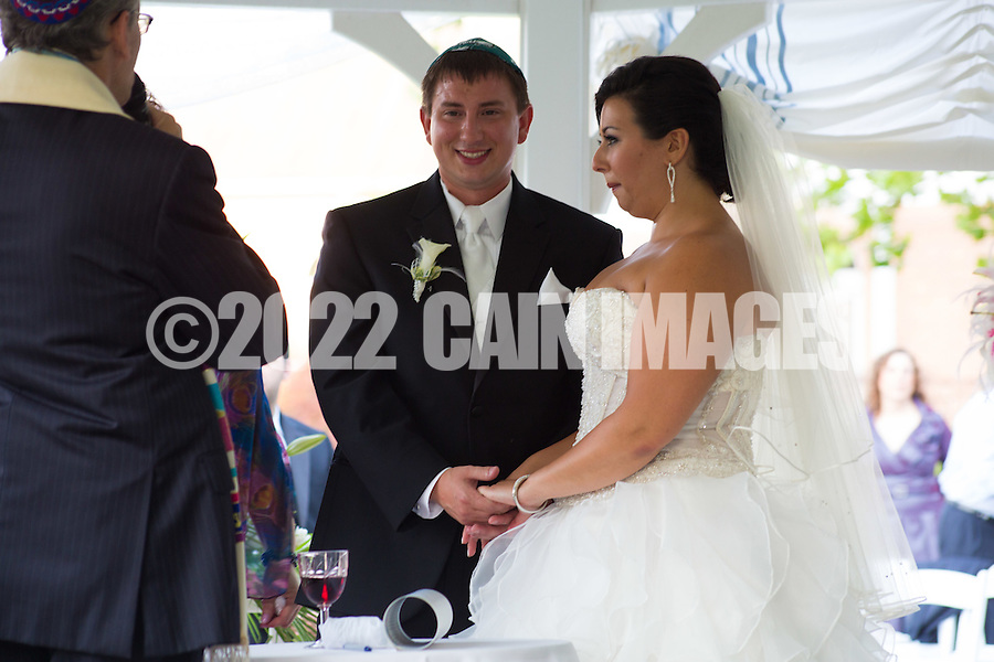 IVYLAND, PA - JUNE 29: Lily & Tom - June 29, 2012 @ Spring Mill Manor - Ivyland, Pennsylvania (Photo by Joe Koren/Cain Images)
