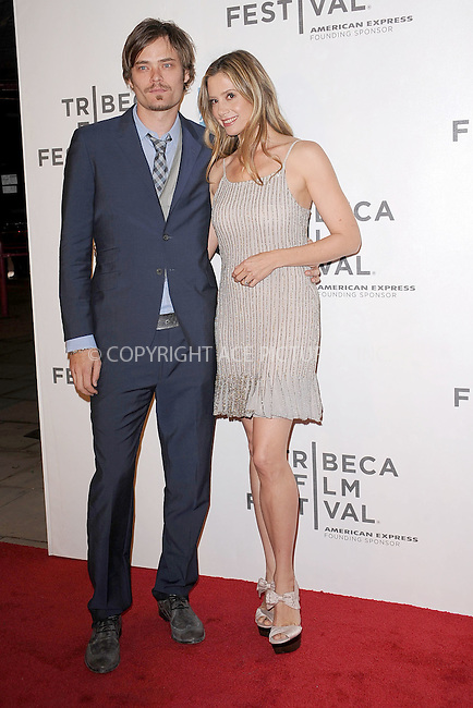 WWW.ACEPIXS.COM . . . . . .April 22, 2011...New York City...Christopher Backus and Mira Sorvino attend the premiere of 'Angel's Crest' during the 2011 Tribeca Film Festival at BMCC Tribeca PAC on April 22, 2011 in New York City....Please byline: KRISTIN CALLAHAN - ACEPIXS.COM.. . . . . . ..Ace Pictures, Inc: ..tel: (212) 243 8787 or (646) 769 0430..e-mail: info@acepixs.com..web: http://www.acepixs.com .