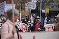 2016/04/13 Politik | Demonstration für Gleichheit bei DDR-Renten