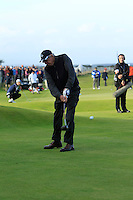 Neels Els (AM) during the Final Day of the Alfred Dunhill Links Championship at St. Andrews Golf Club on Sunday 29th September 2013.<br /> Picture:  Thos Caffrey / www.golffile.ie