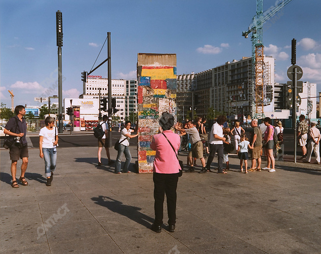 Potsdamer Platz, Berlin, Germany, August 2004