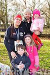 Carolynn, Kieran, Hazel, Fay and Oran O'Donoghue, Mounthawk Tralee  at The Kerry's eye Valentine's Day 10 Mile Road Race on Saturday