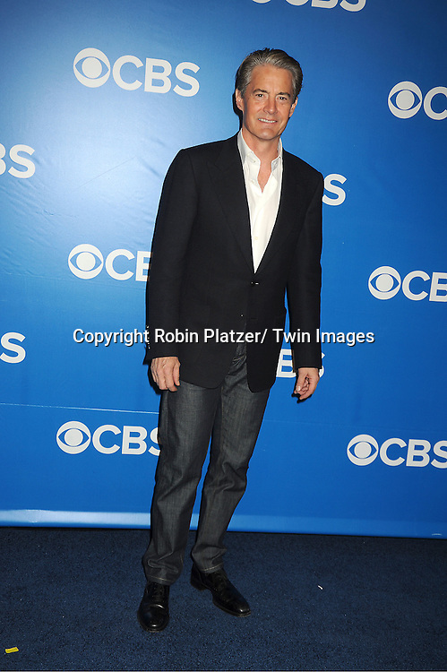"Kyle MacLachlan of "" Made in Jersey"" attends the CBS Upfront 2012 at The Tent at Lincoln Center in New York City on May 16, 2012."