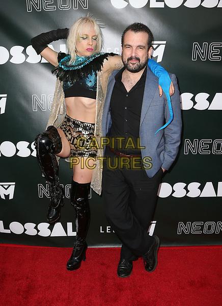 04 April 2017 - Los Angeles, California - Kate Crash, Nacho Vigalondo. &quot;Colossal&quot; - Los Angeles Premiere held at Vista Theatre. Photo Credit: AdMedia<br /> CAP/ADM<br /> &copy;ADM/Capital Pictures