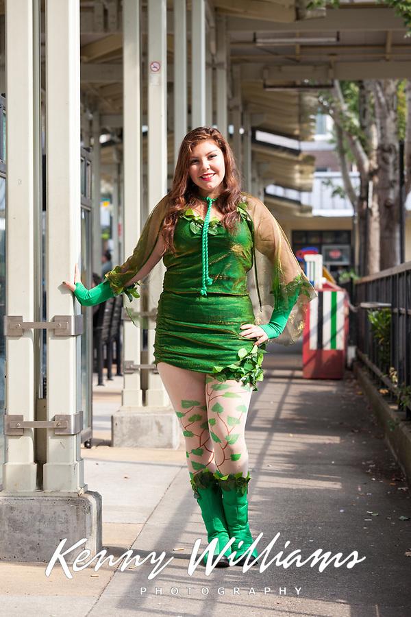 Poison Ivy Cosplay, Renton City Comicon 2017, Washington, USA.