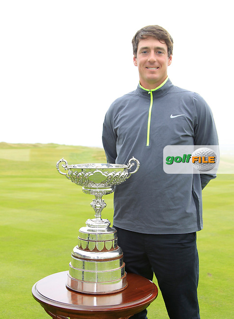 Colin Fairweather (Knock) before the Final Round of the South of Ireland Amateur Open Championship at LaHinch Golf Club on Sunday 26th July 2015.<br /> Picture:  Golffile | Thos Caffrey