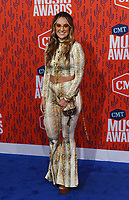 NASHVILLE, TENNESSEE - JUNE 05: Rachel Wammack attends the 2019 CMT Music Awards at Bridgestone Arena on June 05, 2019 in Nashville, Tennessee. <br /> CAP/MPI/IS/NC<br /> ©NC/IS/MPI/Capital Pictures