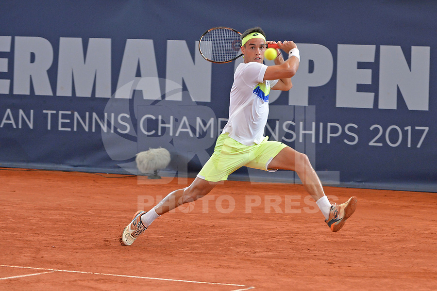 HAMBURGO, ALEMANHA, 25.06.2017 - OPEN-ALEMANHA - O tenista Nicolas Kicker durante partida contra Tommy Hass valido pelo German Open Tennis Championships na cidade de Hamburgo na Alemanha. (Foto:Michael Timm/ Brazil Photo Press)