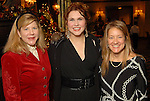 Chairs Katherine Yzaguirre, Traci Lee and Dixie Meynier at the Houston Symphony League's annual Magical Musical Morning event at the Houstonian Saturday Dec. 12,2009.(Dave Rossman/For the Chronicle)