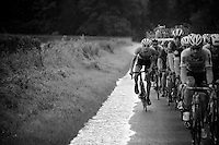 racing over flooded roads<br /> <br /> stage 3: Buchten - Buchten (NLD/210km)<br /> 30th Ster ZLM Toer 2016