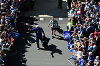 Bath Director of Rugby Todd Blackadder mingles with the crowd on his way to the stadium. The Clash, Aviva Premiership match, between Bath Rugby and Leicester Tigers on April 8, 2017 at Twickenham Stadium in London, England. Photo by: Patrick Khachfe / Onside Images