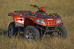 Arctic Cat ATVs provide transportation over a large area on a South Dakota cattle ranch