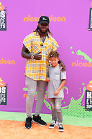 LOS ANGELES - July 13:  Jay Ajayi, guest at the Nickelodeon Kids' Choice Sports Awards 2017 at the Pauley Pavilion on July 13, 2017 in Westwood, CA