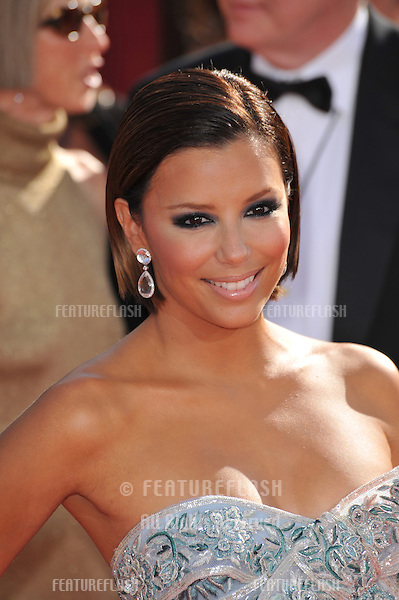 Eva Longoria at the 2008 Primetime Emmy Awards at the Nokia Live Theatre. .September 21, 2008  Los Angeles, CA..Picture: Paul Smith / Featureflash
