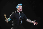 Tre Cool - Green Day en concert a l'AccorHotels Arena a Paris