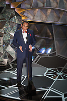 Wes Studi presents a tribute during the live ABC Telecast of The 90th Oscars&reg; at the Dolby&reg; Theatre in Hollywood, CA on Sunday, March 4, 2018.<br /> *Editorial Use Only*<br /> CAP/PLF/AMPAS<br /> Supplied by Capital Pictures