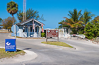 Admission booth ar Zachary Taylor park, Key West, Florida
