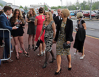 Pictured: Guests arriving Wednesday 11 May 2016<br /> Re: Awards Dinner 2016, at the Liberty Stadium, south Wales, UK.