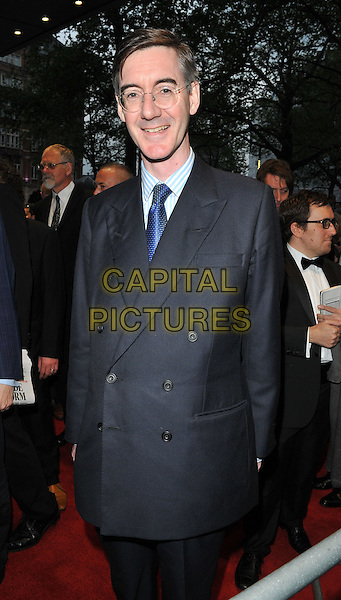 Jacob Rees-Mogg at the &quot;Brexit: The Movie&quot; UK film premiere, Odeon Leicester Square cinema, Leicester Square, London, England, UK, on Wednesday 11 May 2016.<br /> CAP/CAN<br /> &copy;Can Nguyen/Capital Pictures