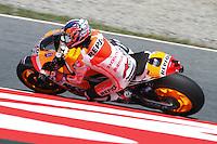 14.06.2013 Barcelona, Spain. Gran Premi Aperol de Catalunya. Free practice 2. Picture show Dani Pedrosa riding Honda at Circuit de Catalunya