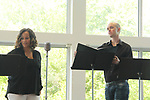 Yvonna Kopacz Wright & Michael Rush - LSPAC (Lower Shore Performing Arts Company) presents the Relaunch of Michael O'Leary's BREATHING UNDER DIRT - Heal - Hope - Love - on May 12, 2018 at the Ward Museum of Wildfowl Art - Salisbury University in Salisbury, Maryland.  (Photo by Sue Coflin/Max Photo)
