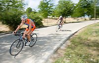 30 MAY 2009 - MADRID,ESP - Carlos Mateos Lopez - Spanish Triathlon Championships (PHOTO (C) NIGEL FARROW)