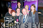 Listowel Best Small  Estate: Representative of the Baile O Dubha Estate. John B Keane Rd, Listowel receiving their award from the Mayor of Kerry, Councilor Pat Leahy at the Three Mermaids Bar in Listowel on Thursday night last...Front: Annette Slemon, Denise Moran & Mayot Leahy.Back: Breda Cronin, Siobhain Dowling, Maureen Lynch & Michelle O'Regan.