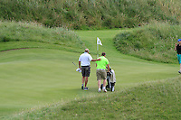 Simon Bryan (Delgany) wins and goes through to the next round during Round 3 of The South of Ireland in Lahinch Golf Club on Monday 28th July 2014.<br /> Picture:  Thos Caffrey / www.golffile.ie