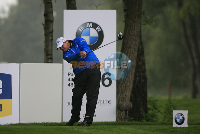 Paul Lawrie (SCO) tees off on the 6th tee during Day 1 of the BMW International Open at Golf Club Munchen Eichenried, Germany, 23rd June 2011 (Photo Eoin Clarke/www.golffile.ie)