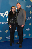 London, UK. 19 January 2016. Dancers Ola Jordan and James Jordan. Celebrities arrive on the red carpet for the London premiere of Amaluna, the latest show of Cirque du Soleil, at the Royal Albert Hall.