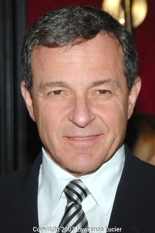 "Disney CEO Robert Iger arrives at a screening of ""Enchanted"" November 20, 2007, at the Ziegfeld Theater in New York City.. (Pictured : ROBERT IGER)."
