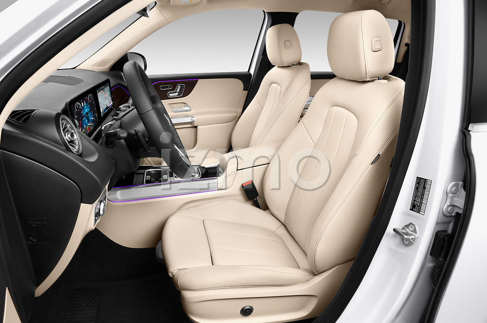 Front seat view of a 2020 Mercedes Benz GLB GLB250 5 Door SUV front seat car photos