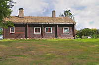 Where Linnaeus was born. The farm at Rashult where Linnaeus was born. Smaland region. Sweden, Europe.